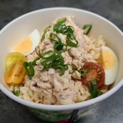 snelle hap pasta tonijn