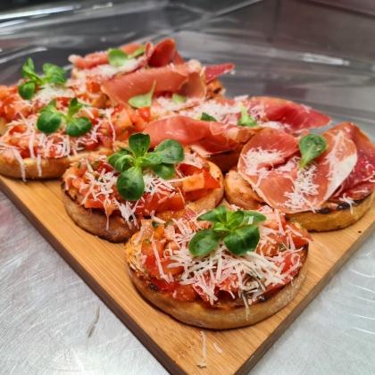 Bruchetta's/Pan con tomate (vanaf 2 pers)