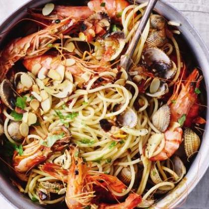 Spaghetti zeevruchten